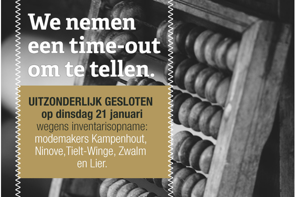 We nemen een time-out om te tellen.