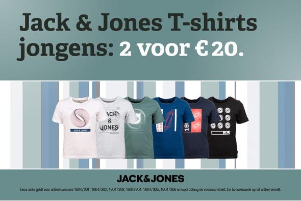 Jack & Jones Junior T-shirts: 2 voor 20 euro