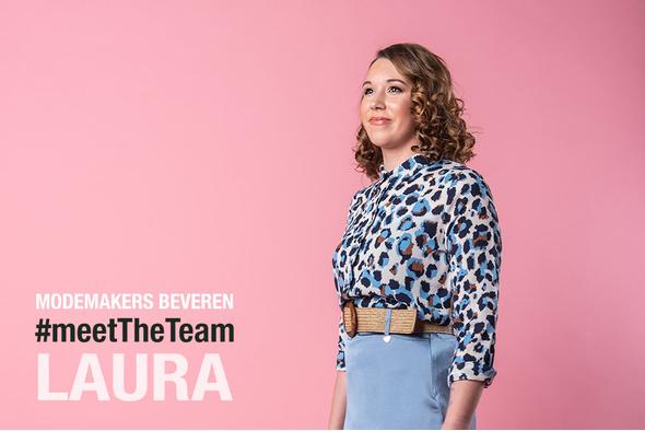 Team Beveren in de startblokken - Laura