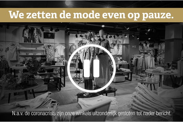We zetten de mode even op pauze.