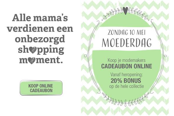 De online cadeaubon: omdat mama's een onbezorgd shoppingmoment verdienen