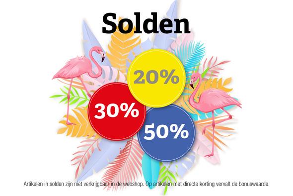 Zomersolden: kortingen tot 50%