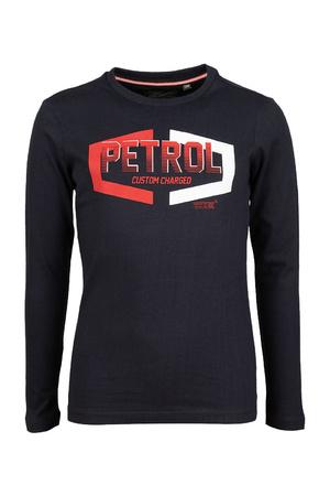 T-shirt lange mouwen Petrol