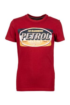T-shirt korte mouwen Petrol