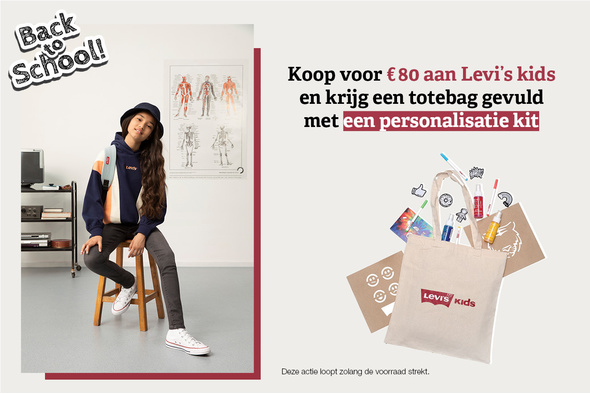 Levi's geeft DIY-pakketten weg