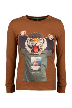 T-shirt lange mouwen The New